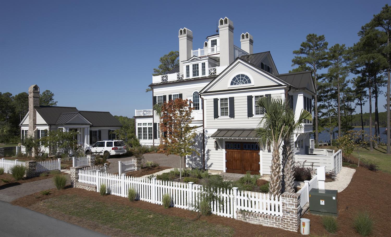 Coastal home with James Hardie siding.