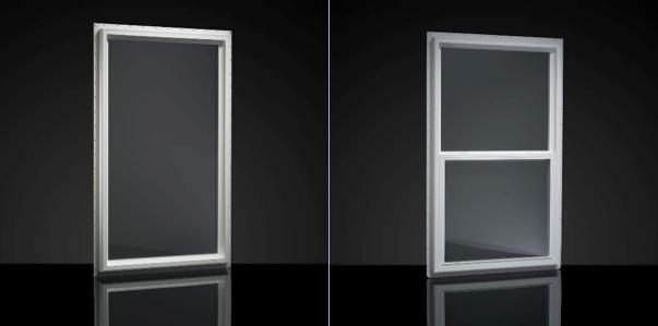 Two large windows